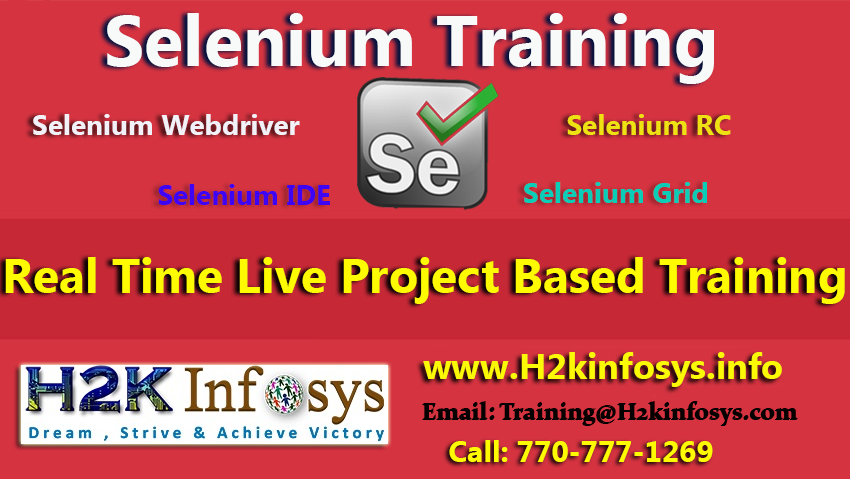 Join Selenium Course at Low Price