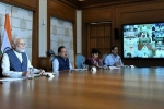 PM Narendra Modi to have a video conference discussion with CMs