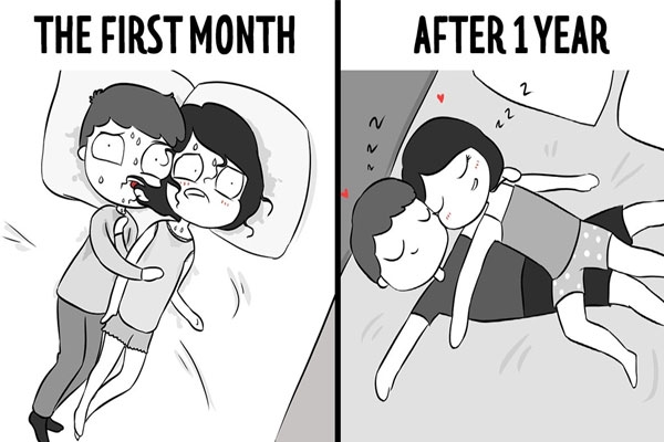 10 Unavoidable Stages Before And After Getting Into A Relationship!