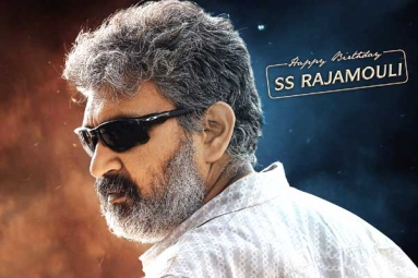 SS Rajamouli Gets a Special Surprise Gift from RRR Team